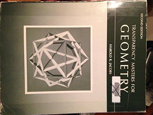 9780716717461: Trans Mast Geometry Jacobs