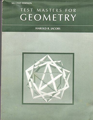 9780716717478: Test Masters for Geometry