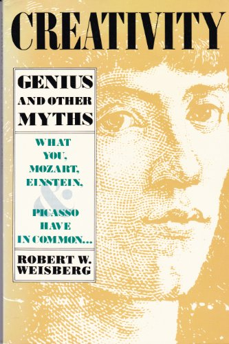 9780716717690: Creativity: Genius and Other Myths (Series of Books in Psychology)