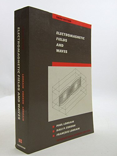 9780716718697: Electromagnetic Fields and Waves/International Students Edition