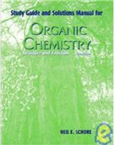9780716718826: Study Guide and Solutions Manual for Organic Chemistry