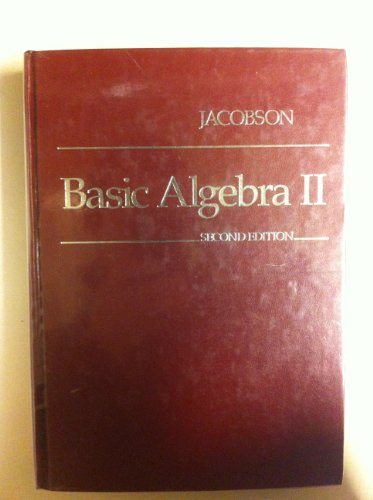 9780716719335: Basic Algebra II
