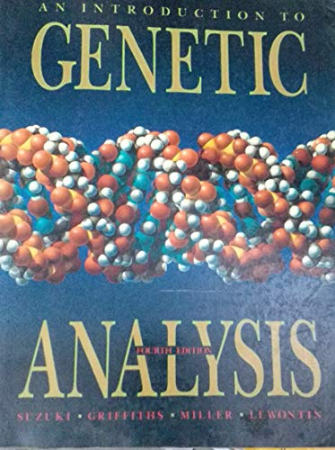 9780716719960: An Introduction to Genetic Analysis