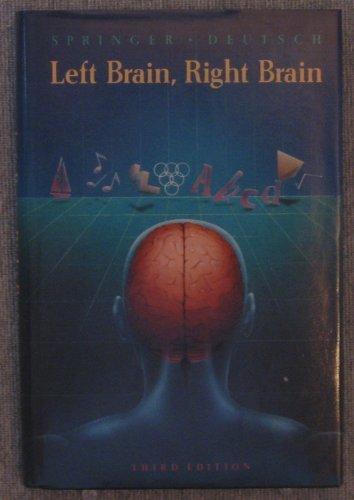 9780716719991: Left Brain, Right Brain