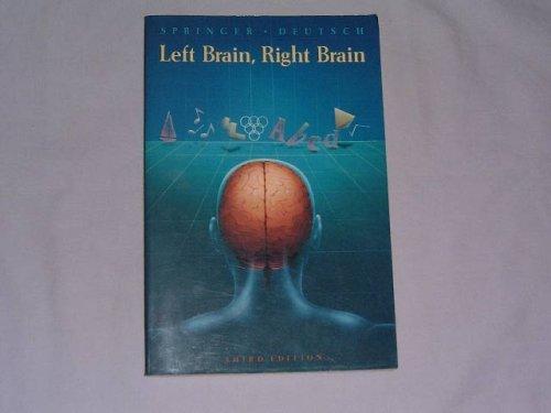 9780716720003: Left Brain, Right Brain