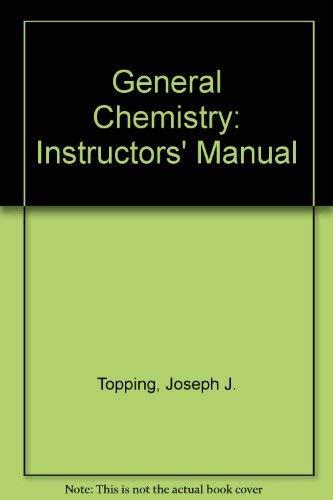 9780716720133: General Chemistry: Instructors' Manual