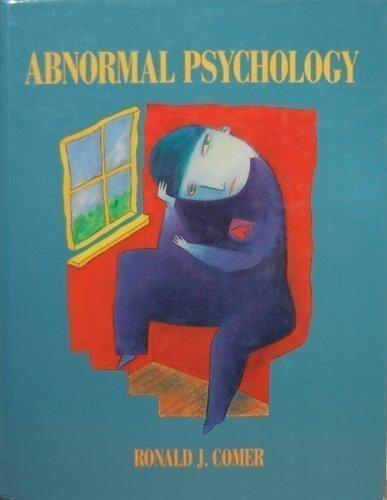 9780716720577: Abnormal Psychology