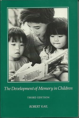 9780716720768: The Development of Memory in Children (Series of books in psychology)