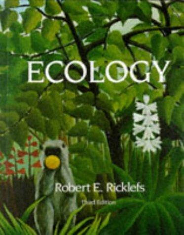 9780716720775: RICKLEFS:ECOLOGY RICKLEFS: ECOLOGY (German Edition)