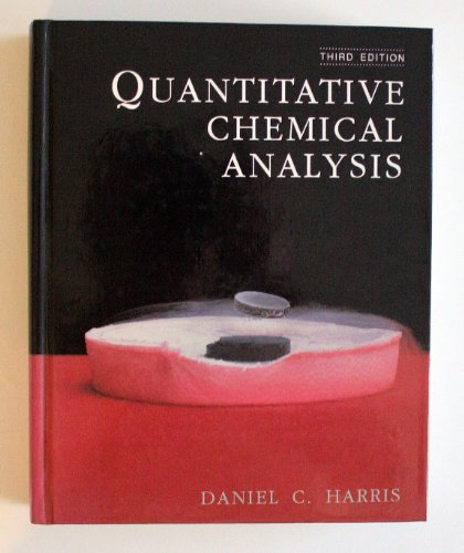 9780716721703: Quantitative Chemical Analysis