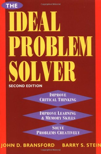 9780716722052: The Ideal Problem Solver: Guide for Improving Thinking, Learning and Creativity