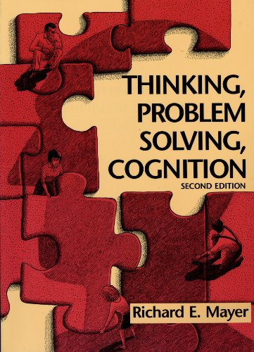 9780716722151: Thinking, Problem Solving, Cognition (Series of Books in Psychology)