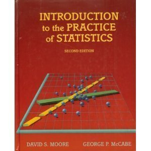 Introduction to the Practice of Statistics - 2nd Edition: Moore, David S.;McCabe, George P.