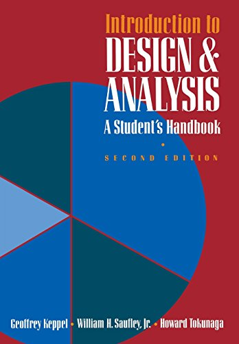 Introduction to Design and Analysis: A Student's: Geoffrey Keppel, William