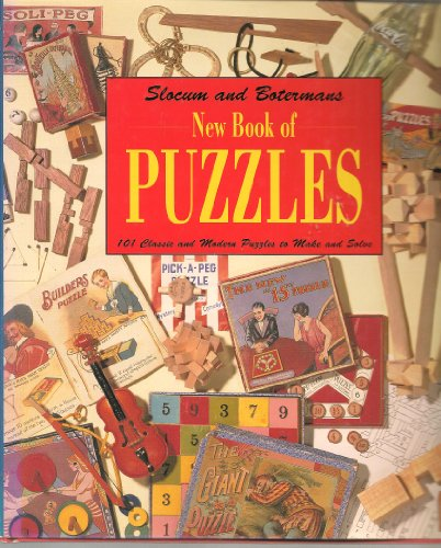 9780716723561: New Book of Puzzles: 101 Classic and Modern Puzzles to Make and Solve