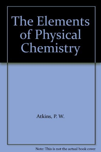 9780716723646: The Elements of Physical Chemistry
