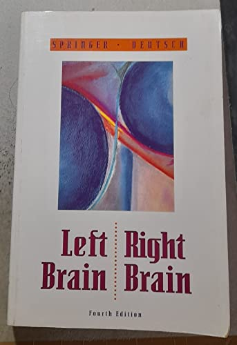 9780716723738: Left Brain, Right Brain (Series of Books in Psychology)