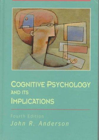 9780716723851: Cognitive Psychology