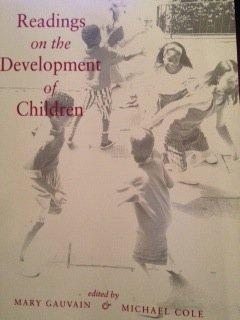 9780716724926: Readings on the Development of Children
