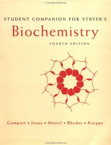 9780716725602: Biochemistry: Student's Companion to 4r.e
