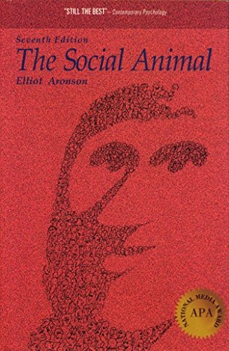 9780716726135: Social Animal (Series of Books in Psychology)