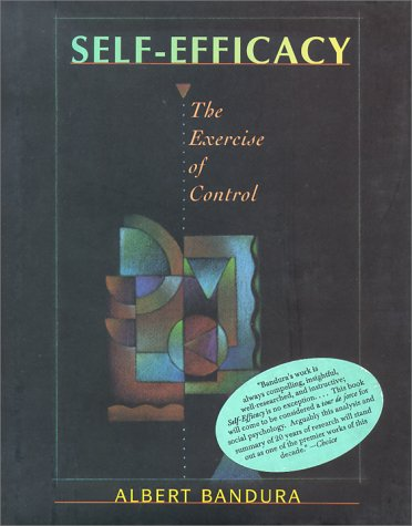 9780716726265: Self Efficacy: The Exercise of Control