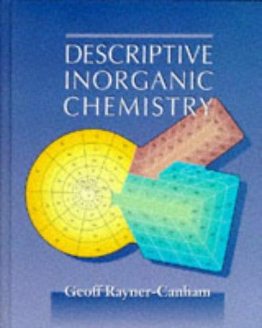 9780716728191: Descriptive Inorganic Chemistry