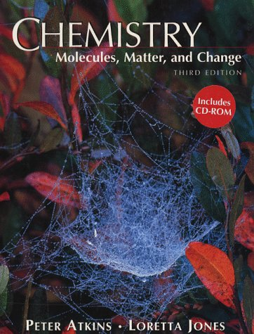 9780716728320: Chemistry: Molecules, Matter and Change
