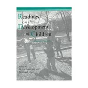 9780716728603: Readings on the Development of Children