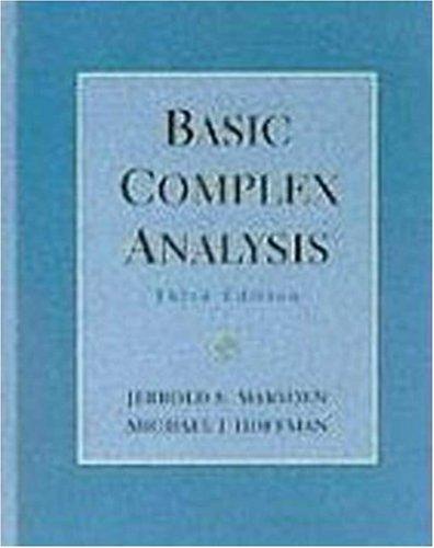 9780716728771: Basic Complex Analysis