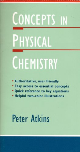 9780716729280: Concepts in Physical Chemistry (Oxford Chemistry Guides, 1)