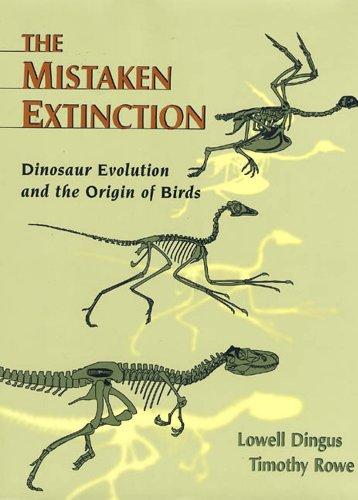 9780716729440: Mistaken Extinction: Dinosaur Evolution and the Origin of Birds