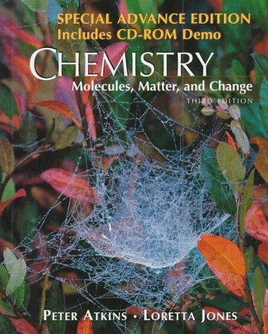 9780716729884: Chemistry: Molecules, Matter, & Change