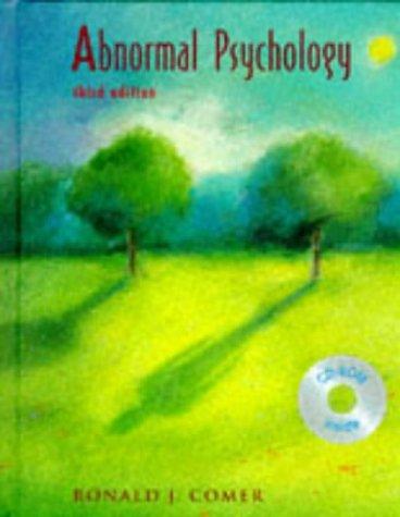 9780716730897: Abnormal Psychology