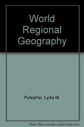 9780716730927: World Regional Geography