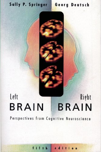 9780716731115: Left Brain, Right Brain: Perspectives from Cognitive Neuroscience (Series of Books in Psychology)