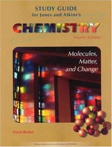 9780716732556: Chemistry: Molecules Matter and Change Study Guide