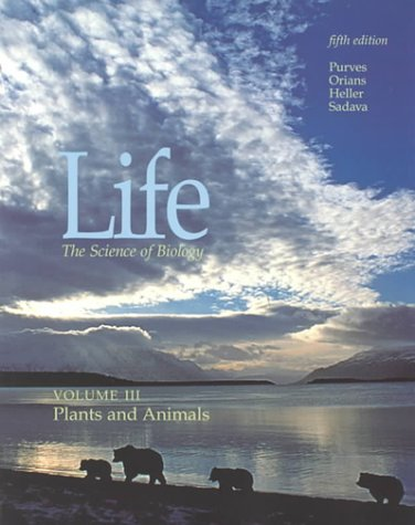 9780716732754: Life the Science of Biology : Plants and Animals v.3