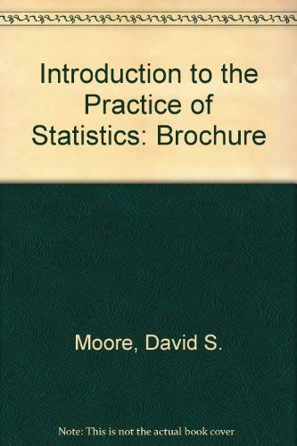 9780716732860: Introduction to the Practice of Statistics: Brochure