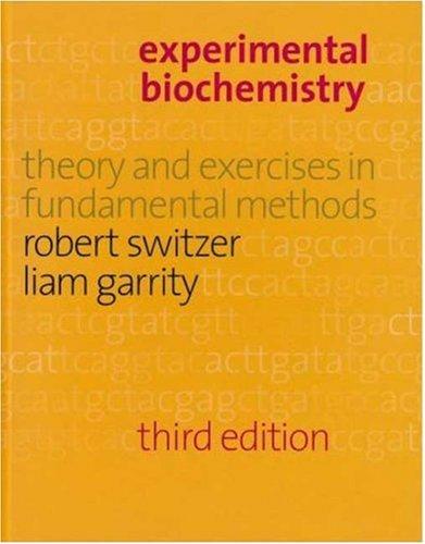 9780716733003: Experimental Biochemistry
