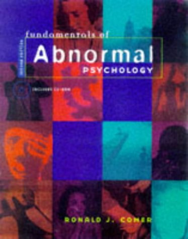 Fundamentals Of Abnormal Psychology By Ronald J Comer Worth