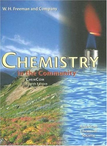 9780716735519: Chemistry in the Community.: (ChemCom)