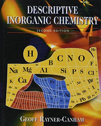 9780716735533: Descriptive Inorganic Chemistry