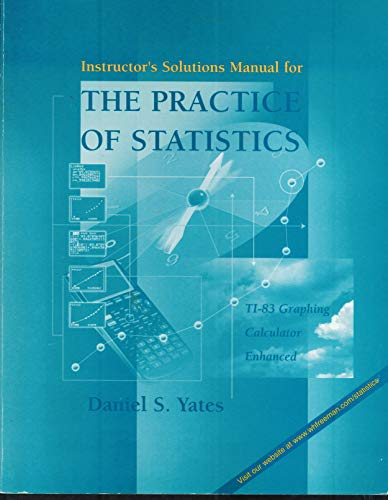 9780716735717: Instructor's Solutions Manual for the Practice of Statistics (TI-83 Graphing Calculator Enhanced)
