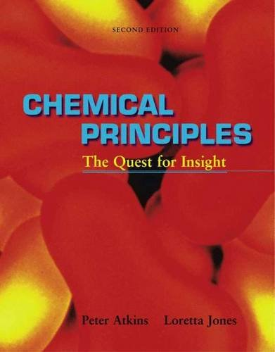9780716735960: Chemical Principles: The Quest for Insight