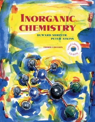 9780716736240: Inorganic Chemistry, Third Edition w/CD