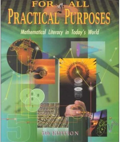 9780716738176: For All Practical Purposes : Mathematical Literacy in Today's World