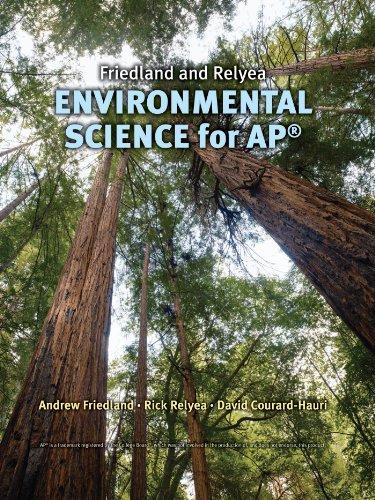 Friedland/Relyea Environmental Science for AP*: Andrew Friedland, Rick