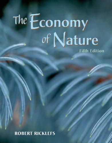 9780716738831: The Economy of Nature