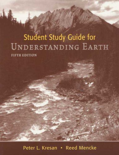 9780716739814: Student Study Guide for Understanding Earth